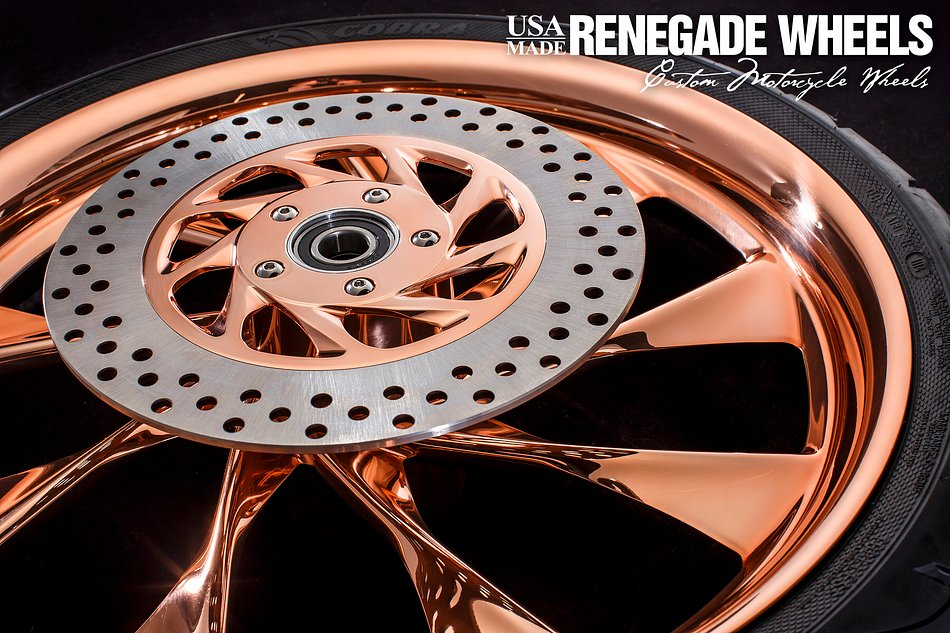 Copper Derby Cover : Renegade wheels whistler
